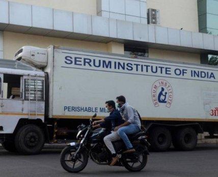 Украина ведет переговоры с индийским производителем вакцины против коронавируса