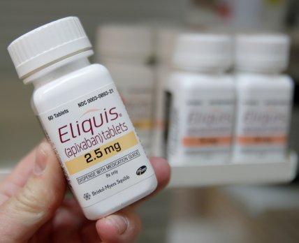 Антикоагулянт от Pfizer и Bristol Myers Squibb «споткнулся» в новом испытании