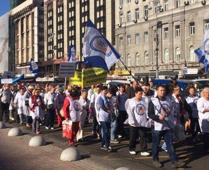 Профсоюзы медработников будут продолжать акции до выполнения требований